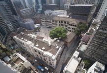 Aerial of Tai Kwun